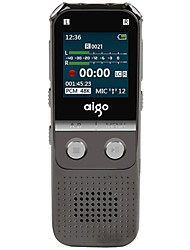Aigo R5522 Digital Voice Recorder HD Remote Noise Reduction Microphone Recording 16GB