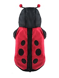 Chien Costume Vêtements pour Chien Cosplay Animal Rouge