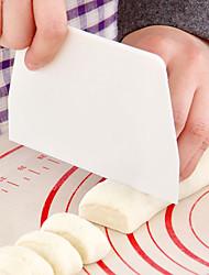 2PCKeystone baking plastic scraper scrape butter scraper cut the dough scraper plate