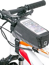 Bolsa de Bicicleta Bolsa para Quadro de Bicicleta Lista Reflectora Vestível Leve Bolsa de Bicicleta Náilon Bolsa de Ciclismo Todos os
