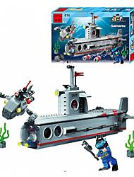 Blocos de Construir para presente Blocos de Construir Navio Plásticos todas as Idades 14 Anos ou Mais Brinquedos