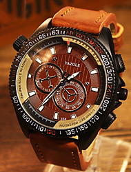 YAZOLE® Brand Men's Fashion  Quartz Alloy Night Light Watch (Assorted Colors) Wrist Watch Cool Watch Unique Watch