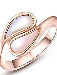 Жен. Кольца для пар Кольца на вторую фалангу Классические кольца ОпалБазовый дизайн Elegant Мода По заказу покупателя Симпатичные Стиль
