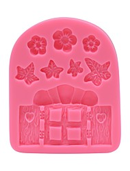 Garden House Decoration Mold  SM-684