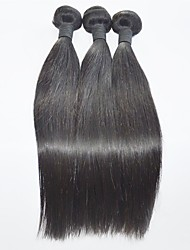 10-28inch Straight Human Hair Weaves Natural Color High Quality  Hair Extension
