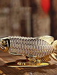 Diy ornamentos automotivos peixe carro creativo perfume assento homens, além de cheiro de carro pingente&Ornamen metal