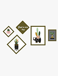 Wall Stickers Wall Decas Style Creative Photo Mix PVC Wall Stickers