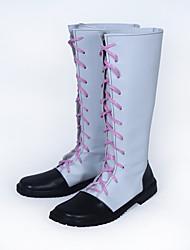 Обувь для косплэй Noragami Akaito Аниме Обувь для косплэй ТПУ Универсальные