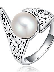 Settings Ring Band Ring  Luxury Women's Euramerican Fashion Fish Style Ring Birthday Anniversary Party Movie Gift Jewelry
