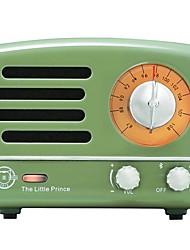 MW-2A Tragbares Radio FM-Radio Eingebauter Lautsprecher Weiß Gelb Rot Grün Blau