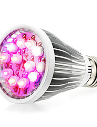 12w E27 / E14 / GU10 principale coltiva le luci 12 di alto potere LED (8red 2blue 1white 1uV) 290-330lm AC 85-265 V 1 pz