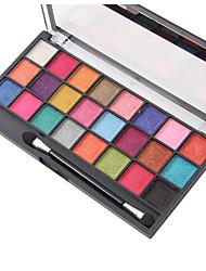 Paleta de Sombras de Ojos Brillo Mineral Paleta de sombra de ojos Polvo Maquillaje de Diario Maquillaje de Fiesta