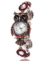 Mujer Reloj de Moda Reloj Pulsera Reloj creativo único Reloj Casual Simulado Diamante Reloj Reloj de Pulsera Chino Cuarzo Metal PU Banda