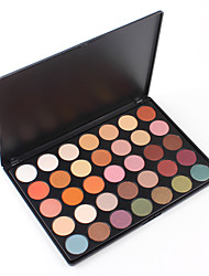 35E Basic Eyeshadow Palette Cosmetic Makeup Party Nude Matte Shades Warm Eye Make Up Professional Kit Rouge Range Set