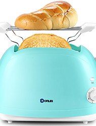 Brotmaschinen Toaster Neuheiten für die Küche 220VGeräuscharm Licht-Spannungsanzeige Leichtes Gewicht Niedrige Vibration Timer Licht und