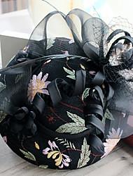 Tulle Mousseline de soie Dentelle Tissu Filet Casque-Mariage Occasion spéciale Anniversaire Fête/Soirée Coiffure Chapeau Pique cheveux1