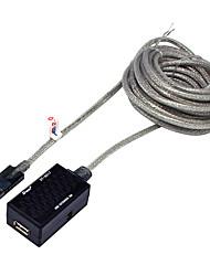 USB 2.0 Prolunga, USB 2.0 to USB 2.0 Prolunga Maschio/femmina 5.0m (16ft)