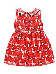 Robe bébé Mode Coton Polyester Eté-