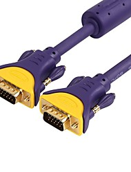 VGA Câble, VGA to VGA Câble Male - Male Cuivre plaqué or 25.0m (80ft)