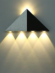 5 LED integrato Semplice LED Moderno/Contemporaneo Spazzolato caratteristica for LED Stile Mini Lampadina inclusa,Luce ambient Luce a muro