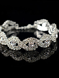 Women's Tennis Bracelet Jewelry For Wedding Party Other Engagement Gift Daily Ceremony New Year Date