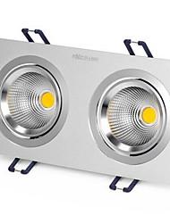1pcs 6w incassato led plaid chiaro giallo chiaro / caldo bianco / bianco ac220v foro di dimensioni 170mm angolo del fascio 25