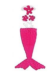 Cola de Sirena Cuento de Hadas Cosplay Festival/Celebración Disfraces de Halloween Cosecha Faldas Tops Tocados Halloween Carnaval Chica