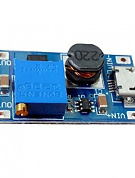 Dc-dc 2a modulo di amplificazione registrabile micro circuito del usb dc