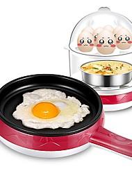 Lingrui XB-3105 Egg Cooker Double Eggboilers Health Care Multifunction Low Noise Power light indicator Detachable Upright Design 220V