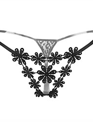 Women's Sexy Embroidery G-strings & Thongs Panties