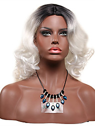 Silver Jerry Curly Wig for Women Costume Cosplay Synthetic Wigs
