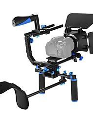 andoer tp-65 liga de alumínio fluido cabeça de arrastar cabeça hidráulica tridimensional tripé cabeça 360 tiro panorâmico para fotografia