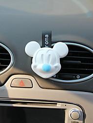 Parabens da grade do ar de perfume do ar azul Mickey encontro fragrância do sabor do mar Purificador de ar automotivo