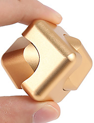 2-way 2in1 Fidget Spinner Cube Gyro Finger Hand Top Spinner EDC ADD ADHD Anti Anxiety Stress Reliever Luxury Magic Cube 1Pc
