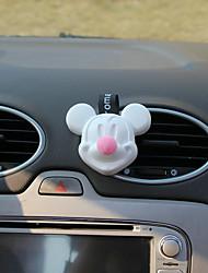 Pare-choc de la grille de sortie de voiture rose mickey répond au parfum du purificateur d'air de la mer