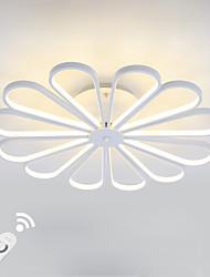 dimmbare moderne LED 150W Deckenleuchte bündig montiert Alumilium Malerei mit Remoter Dimmer für Wohnzimmer Bett Zimmer