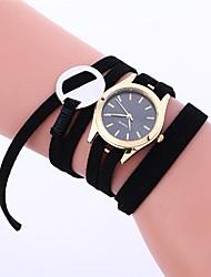 Mulheres Crianças Relógio de Moda Bracele Relógio Único Criativo relógio Relógio Casual Chinês Quartzo Impermeável Tecido Banda Preta