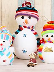 3pc christmas ornament festival articles noël petite poupée bonhomme de neige un poupée pendule pendentif petit cadeau cadeau