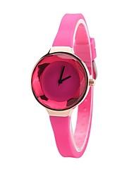Жен. Детские Модные часы Часы-браслет Повседневные часы Китайский Кварцевый Секундомер Защита от влаги силиконовый Pезина Группа
