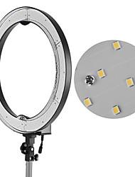 andoer rl-680b 18.9 / 48cm 55w dimmable 5500k макрос водить видео кольцо лампа 240pcs бисер ж / белый оранжевый фильтр 175cm / 5.7ft