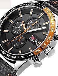 Men's Kid's Sport Watch Military Watch Wrist watch Japanese Quartz Calendar Chronograph Water Resistant / Water Proof Speedometer