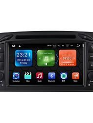 android 7.1.2 sistema multimediale del lettore DVD dell'automobile 7 pollici quad core wifi ex-3g dab per mercedes benz c-classe w203