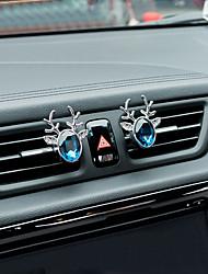 автомобильная воздухозаборная решетка духов полностью до мира кристалла пара цинковый сплав материал автомобильный очиститель воздуха