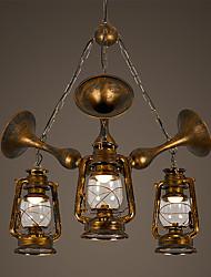 restauração nórdica formas antigos lustre de ferro forjado individualidade creativo contratado sala de estar lâmpadas e lanternas lâmpadas