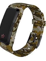 hhy новый a709 умный браслет камуфляж ремешок сердечный ритм кровяное давление интеллектуальный будильник будильник мониторинг напоминание