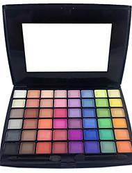 48 Eyeshadow Palette Dry / Matte / Shimmer / Mineral Eyeshadow palette Powder Normal Party Makeup / Smokey Makeup / Halloween Makeup