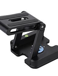 andoer z-образный алюминиевый сплав складная камера камкордер настольный держатель быстроразъемная плита наклона головка для nikon / canon