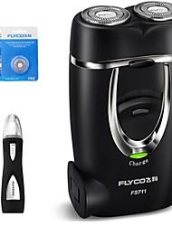 FLYCO FS711 Electric Shaver Razor 220V Washable Head Nose Device Spare Head