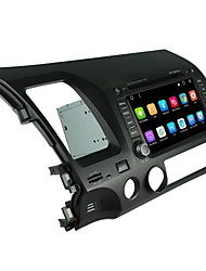 2 din kapazitiven touch lcd auto dvd player android 6.0 für honda civic 2006-2011