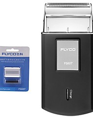 FLYCO FS607 Electric Shaver Razor One Spare Head 220V Charging Indicator
